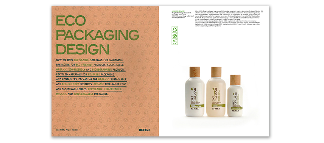 PACKAGING DESIGN BIO ORGANIC SKINCARE ECO PACKAGING DESIGN