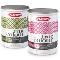 PACKAGING DESIGN OF PLASCON TRUE COLOUR