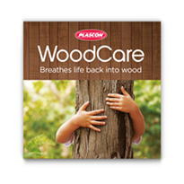 BROCHURE AND PACKAGING DESIGN PLASCON WOODCARE